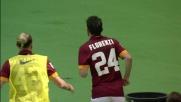 Il goal di Florenzi dopo un fantastico coast-to-coast all'Olimpico di Roma