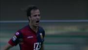 Il goal di Gilardino al Chievo per il momentaneo pareggio del Genoa allo scadere
