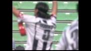 Il goal di Iaquinta sblocca il risultato nella sfida con il Cagliari