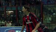 Il goal di Ibrahimovic chiude la partita a San Siro tra Milan e Cesena