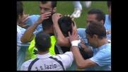 Il goal di Jimenez ai danni del Livorno mette al sicuro la qualificazione Champions per la Lazio