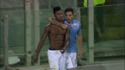 Il goal di Keita sblocca il risultato contro il Frosinone all'Olimpico