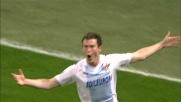 Il goal di Lichtsteiner gela San Siro e regala un punto alla Lazio
