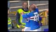 Il goal di Maggio ai danni del Livorno manda in visibilio il Marassi