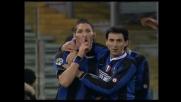 Il goal di Materazzi ammutolisce l'Olimpico: Lazio-Inter 0-2