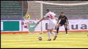 Il goal di Meggiorini contro il Genoa scatena il San Nicola