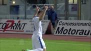 Il goal di Palacio con un tiro al volo riporta l'Inter in vantaggio al Picchi