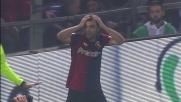 Il goal di Pandev nel derby di Genova viene annullato per fuorigioco