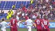 Il goal di Pandev porta in vantaggio la Lazio nel derby