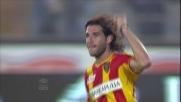 Il goal di Piatti  contro la Lazio fa esultare Lecce