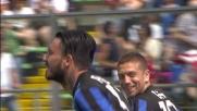 Il goal di Pinilla da calcio di rigore sblocca il risultato in Atalanta-Genoa