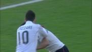 Il goal di Ragatzu porta in vantaggio il Cagliari in casa del Bologna
