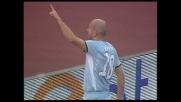 Il goal di Rocchi porta la Lazio sul 2-0 con il Siena