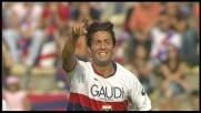 Il goal di Sculli vale il raddoppio per il Genoa al Dall'Ara