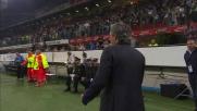 Il goal di Sneijder fa impazzire Mourinho e tutto San Siro