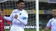 Il goal di Soriano sblocca il match tra Verona e Sampdoria