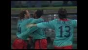 Il goal di Suazo fissa il risultato sull'1-1 fra Sampdoria e Cagliari