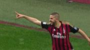 Il goal di Taarabt segna il raddoppio del Milan sul Livorno