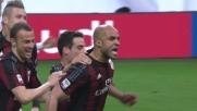 Il goal di testa di Alex sblocca la sfida tra Milan e Juventus