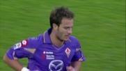 Il goal di testa di Gilardino accorcia le distanze tra Fiorentina e Brescia