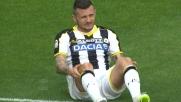 Il goal di Thereau accorcia le sistanze tra Napoli e Udinese