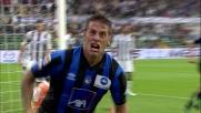 Il goal d'opportunismo di Denis sblocca il match di Bergamo contro l'Udinese