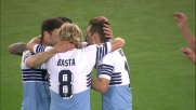 Il goal in tap-in sottoporta di Klose mette la Lazio al sicuro