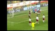 Il goal su punizione di Pirlo sblocca il match tra Milan e Reggina