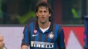 Il goal su rigore di Milito vale la tripletta contro il Genoa