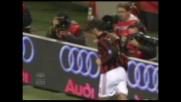 Il Milan si riporta sul pari con il Chievo grazie ad un goal di rapina di Gilardino