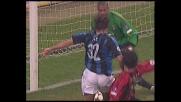 Il Milan si salva su una punizione velenosa di Veron