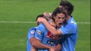 Il Napoli pareggia contro il Milan grazie al goal di Cavani