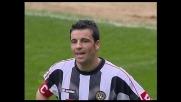 Il pallonetto di Di Natale esce di un soffio, la Sampdoria esulta