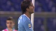 Il palo ferma la bella giocata di Sculli contro il Catania