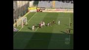 Il palo nega a Falcone la gioia del goal