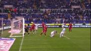 Il palo nega la gioia del goal a Foggia nel derby di Roma