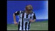 Il palo nega un goal spettacolare di Galloppa contro il Genoa a Marassi