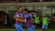 Il pareggio del Catania contro il Genoa porta la firma di Bergessio