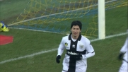 Il Parma allunga sul Cagliari grazie al goal su rigore segnato da Valdes