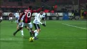 Il passaggio impossibile di Robinho contro il Cesena
