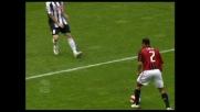Il pendolino Cafù segna il terzo goal del Milan contro l'Udinese