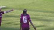 Il primo goal della doppietta di Mbaye alla Sampdoria