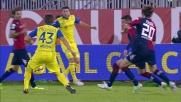 Il raddoppio del Chievo contro il Cagliari porta la firma di Paloschi