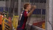 Il raddoppio del Genoa contro il Cagliari porta la firma di Immobile