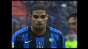 Il rigore di Adriano porta l'Inter al 3-1 sul Cagliari