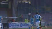 Il San Paolo è inespugnabile con Chiriches: la palla non passa e il Verona resta all'asciutto
