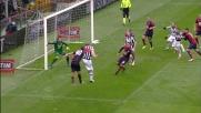 Il Siena pareggia il conto dei goal a Marassi con un destro di Emeghara che piega le mani a Frey