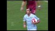Il sinistro di Pandev riporta in parità la gara tra Lazio e Torino all'Olimpico