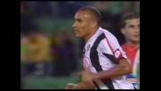 Il sinistro di Vidigal non trova la porta di Buffon e grazia la Juventus
