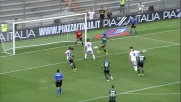 Il tap-in di Calaio' vale il goal del pareggio del Genoa